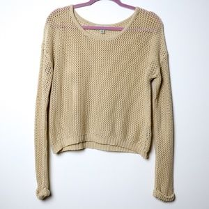 Bycorpus | Lighweight Cropped Pullover Sweater